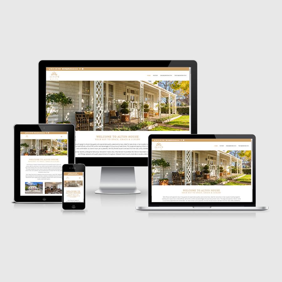 Nelson New Zealand Bed & Breakfast Website Design